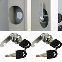 1pcs Mailbox Mail Letter Box Mail Box Lock with 2 Keys Steel Secu Stainless S4W1