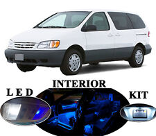 LED Package - Interior + License Plate + Vanity for Toyota Sienna (14 pieces)