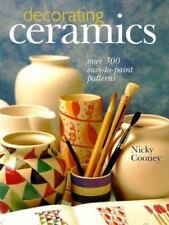 Decorating Ceramics: Over 300 Easy-to-Paint Patterns by Cooney, Nicky