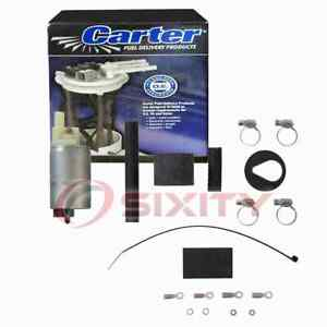 Carter In-Tank Electric Fuel Pump for 1982-1988 BMW 528e 2.7L L6 Air bl