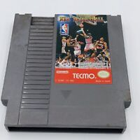 Tecmo NBA Basketball NES (Nintendo Entertainment System) Tested and Working
