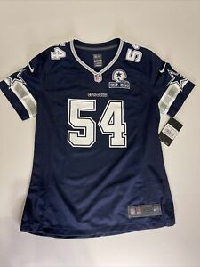 NIKE DALLAS COWBOYS Jaylon Smith #54 JERSEY Blue NFL Est 1960 WOMEN'S Medium DAL