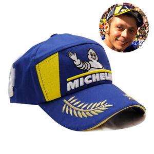 NEW 2021 MICHELIN MAN MOTOGP WRC CHAMPION PODIUM BASEBALL HAT BLUE RACING CAP