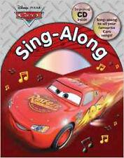 Disney Pixar Cars Sing Along with CD (Disney Singalong), New, Disney Book