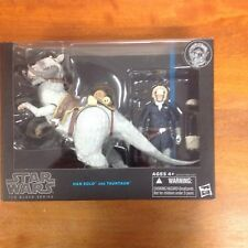 STAR WARS BLACK SERIES HAN SOLO AND TAUNTAUN