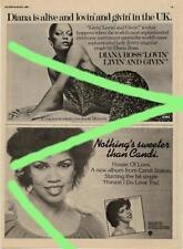 Candi Staton Diana Ross UK LP/'45 advert