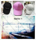 Kpop BTS YOUTH Hat Japan Embroidery Hip Hop Cap Unisex Snapback Adjustable Jimin