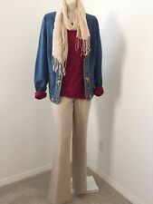 Womens Clothing Lot Outfit Size 8 Medium Career Pants Blouse Jacket Scarf 4pc
