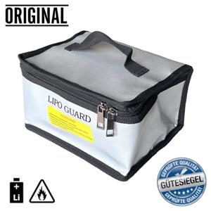 Lipo Akku Ladetasche Safe Bag 19x15x10cm Feuerfest Sicherheitstasche Feuerschutz