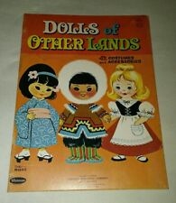 Vtg 1963 Charming, Sweet Dolls Of Other Lands Paper Dolls New 42 Costumes