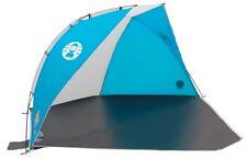 Coleman blue sundome beach shelter with closure
