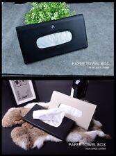 Car Auto Clip Sun Visor Paper Towel Napkin Tissue Box Holder Bag BLACK L.E.X.U.S