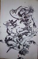Velickovic Vladimir sérigraphie signée art abstrait abstraction Belgrade Serbie
