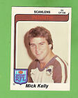 1980 PENRITH PANTHERS SCANLENS RUGBY LEAGUE CARD #65 MICK KELLY