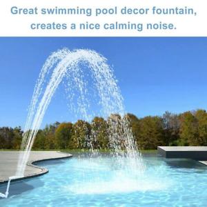 Swimming Pool Waterfall Fountain Above Ground Pool Fountain Pool Fountain Head