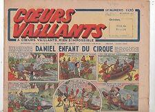 COEURS VAILLANTS 1942 n°40. Hergé. Tintin Le crabe aux Pinces d'Or.