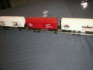 LIONEL TRAINS FREIGHT CARS PKG DEAL SET OF THREE