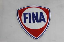 FINA Logo - Emailschild - Türschild - 15cm x 16,5 cm - Emaille Schild - TOP