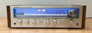Pioneer SX-550 Stereo Receiver - Tested/Serviced, Working. Wood sides/all LED's
