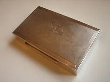 antike Zigarettendose der Seereederei Frigga, 835iger Silber