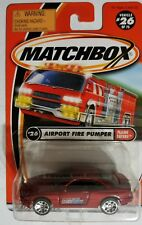 ERROR MATCHBOX BMW 850i Car in AIRPORT FIRE PUMPER PACKAGE # 26 Flame Eater