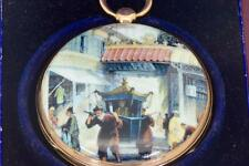 MUSEUM Chinese Qing Dynasty 22k Gold&Enamel Verge Fusee pocket watch c1800.Boxed