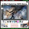7'' 2 DIN Écran Tactile Autoradio Bluetooth MP5 Stéréo TF/USB/AUX/FM/à Distance