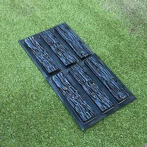 Set 6 pcs ABS Plastic Molds that imitate natural stone Slate for Concrete