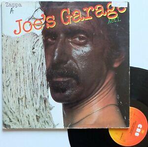 "LP 33T Frank Zappa  ""Joe's garage act I"" - (B/TB)"