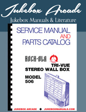 Rock Ola 506 TRI-VUE Wallbox  Service Manual, Parts Catalog and Large Schematics