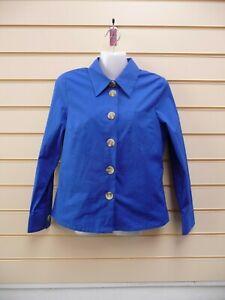 Kaleidoscope Women's Blouse Shirt Blue Size 12  BNWT G004
