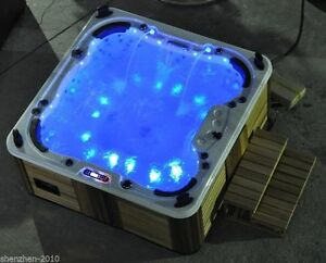 5pcs/set led bathtub Bath Tub Jacuzzi Spa light RGB with one touch switch IP68