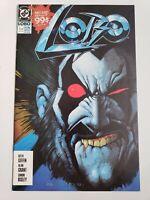 LOBO #1-4 (1990) DC COMICS FULL COMPLETE SERIES! SIMON BISLEY ART! 1ST SERIES!