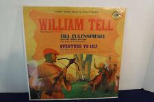 William Tell, Wonderland Records LP 94, 1963 SEALED Children's Story/Mason Adams