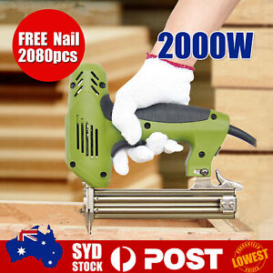 F30 2000W Electric Straight Nail Gun Framing Heavy-Duty Woodworking Tool D
