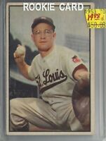 Clint Courtney  St. Louis Browns Rookie Card  1953 Bowman #70  BV/$50