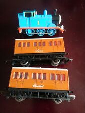 BACHMANN THOMAS THE TANK ENGINE WITH HORNBY ANNIE AND CLARABEL OO GAUGE