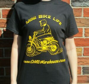 Mini Bike Life T-Shirt OMBT_MBLGOLD