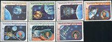LAO LAOS STAMP 1984 SPACE EXPLORATION 7v LUNA SPUTNIK LUNOKHOD MINT NH