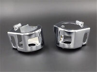 Chrome SWITCH COVERS Set For Kawasaki Vulcan 2000 900 VN VN900 VN2000 Motorcycle