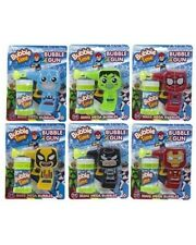 Bulk Wholesale Job Lot 36 Super Hero Friction Bubble Guns Toys