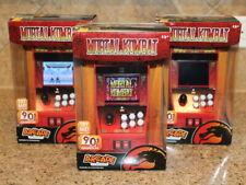 1 New MORTAL KOMBAT Arcade Classics Mini Playable Game Cabinet