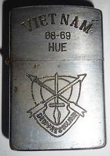 1968 - ORIGINAL ZIPPO LIGHTER - US SPECIAL OPS - HUE - 68-69 - VIETNAM WAR, 5231
