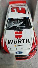 2015 Brad Keselowski #2 Autographed Wurth 1/24 diecast Nascar Ford