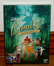 BAMBI 2-EDICION ESPECIAL-DVD-DISNEY-SLIPCOVER-PRECINTADO-NUEVO-SEALED-NEW