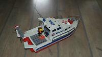 Playmobil 3941 Ariane Rettungsschiff Schiff Kutter Boot Rescue R98