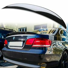 Painted High Kick ABS Rear Trunk Spoiler for BMW 3-Series E92 Black Sapphire 475