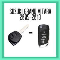 Suzuki Grand Vitara Remote Flip Key 2005-2013