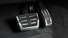 Genuine Audi A1, A3 (8V), Q2, TT MK3 Stainless Steel Pedal Covers - Auto RHD