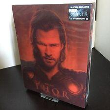 Thor Lenticular Steelbook Blufans Exclusive 3D+2D Blu-ray Brand New & Rare!